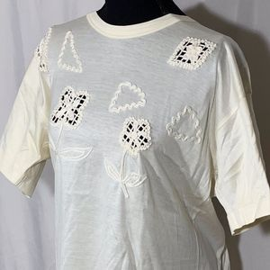 Vintage Escada Embroidered Top